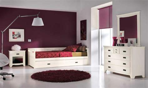 chambre violet blanc 60 exemples pour la chambre enfant bois moderne