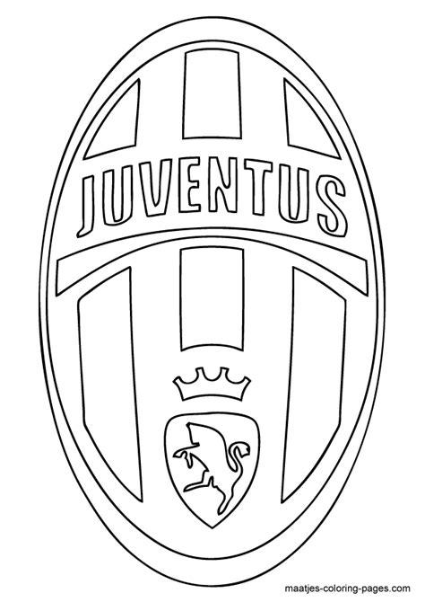 Kleurplaat Arsenal by Juventus Soccer Club Logo Coloring Page