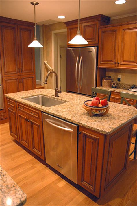 small kitchen island with sink how to design a kitchen island that works