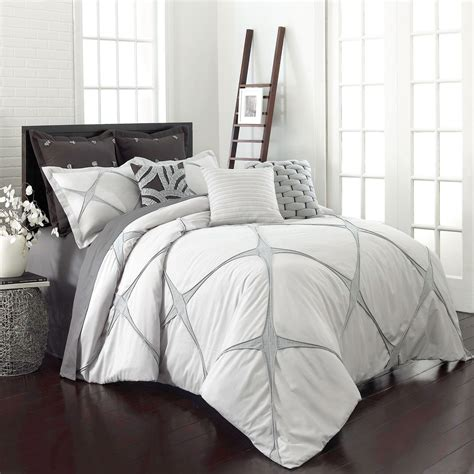 black and silver bedding set cersei three comforter set vue comforter