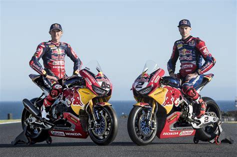 Red Bull Honda World Superbike Team Continues Partnership