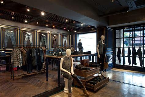 retail interior design 187 egome boutique by metaphor interior architecture Industrial