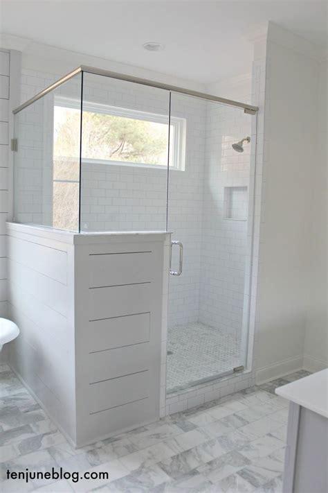 shower enclosure ten june  farmhouse