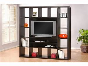 Etagere Pour Tv : meuble tv ealing avec tag res weng ou blanc ~ Teatrodelosmanantiales.com Idées de Décoration