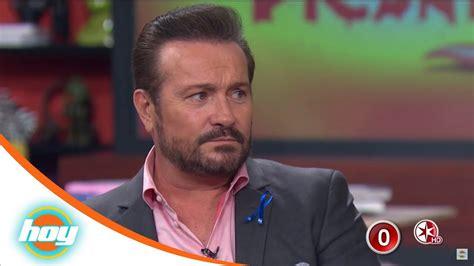 Arturo Peniche Entrevista Picante Hoy Youtube
