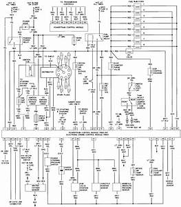 1989 Ford Bronco Fuse Box Diagram