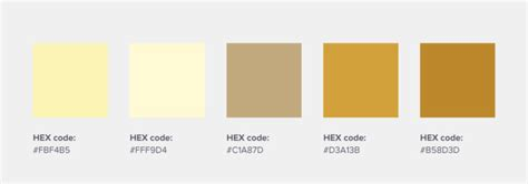 color code for gold 31 inspirational brand colors and how to use them