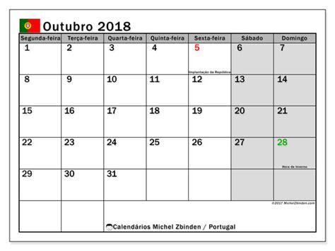 calend 225 de outubro de 2018 portugal michel zbinden pt