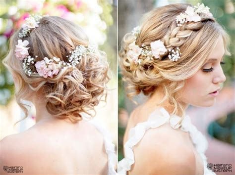romantic wedding hairstyle inspiration all braided up