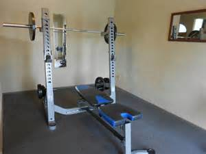 Homemade Weights Bench