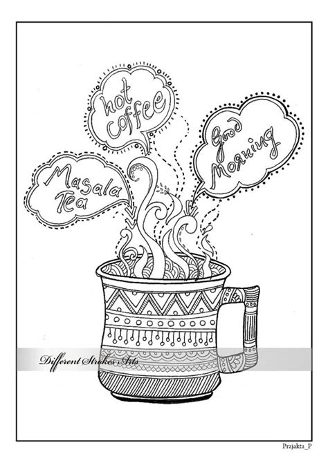 coloring page adult coloring page printable coloring