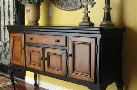 aged kitchen cabinets gorgeous way to redo an buffet wood buffet in 1183