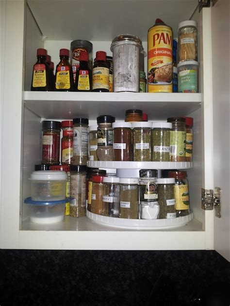 Spice Rack Lazy Susan by Help Getting Organized Get Organized With Organizational