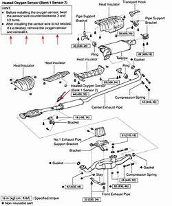 Lexus Is 250 Exhaust Diagram