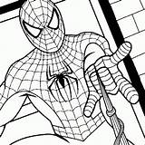 Spiderman Coloring Pages sketch template