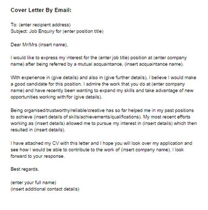 email covering letter health  fitness job cover