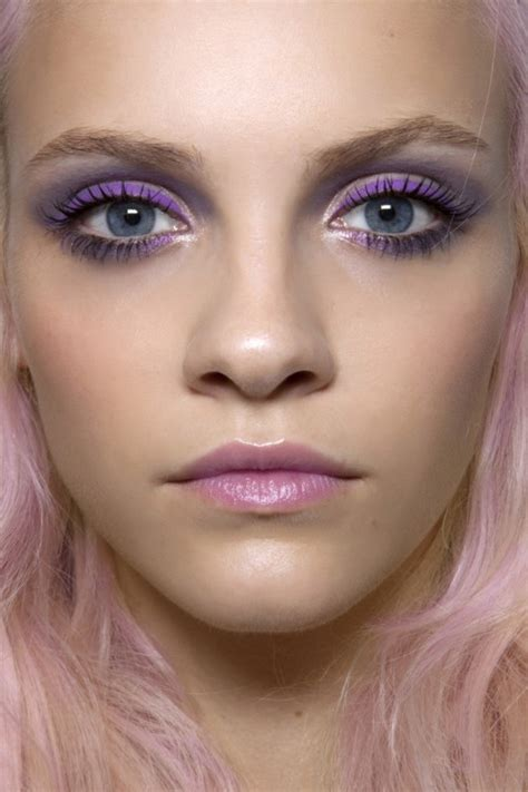 purple makeup   copy  spring fashionsycom