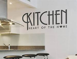 kitchen heart of the home wall sticker contemporary wall With kitchen decals for walls ideas you can apply at home