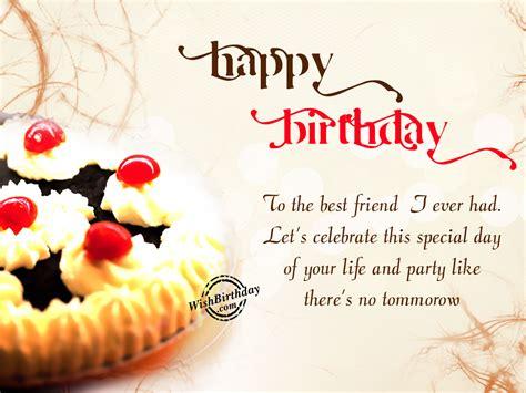 Happy birthday to my friend. Happy Birthday friend - WishBirthday.com