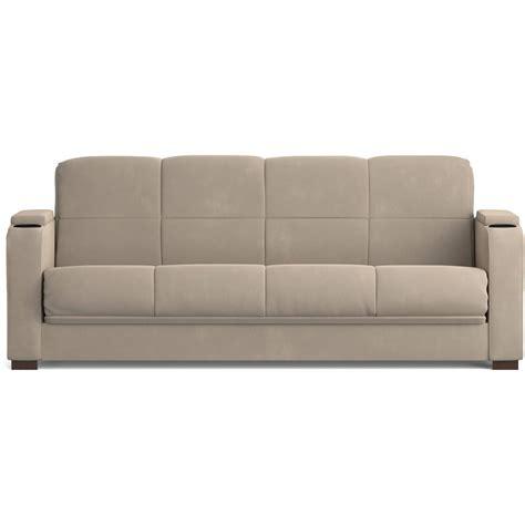Arm Sleeper - mainstays microfiber storage arm futon sofa sleeper