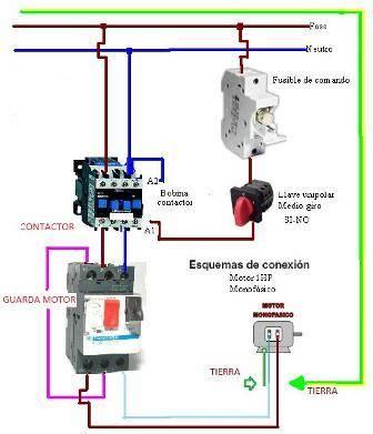 como se conecta un motor de 1hp a 220 vca que termica lleva electricidad domiciliaria