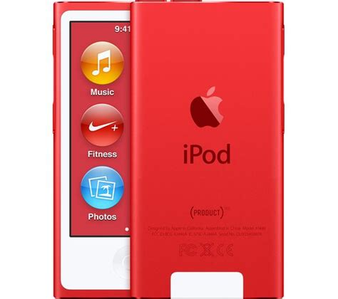 buy apple ipod nano  gb  generation productred