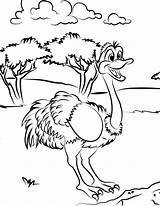 Ostrich Coloring Pages Printable Colouring Animal Bestcoloringpagesforkids Sheets Cartoon Animals Clipart Emu Bird Toddler Getcoloringpages Outline Library Getcolorings Deviantart Popular sketch template