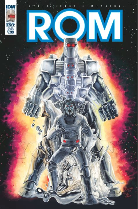 Rom Annualrevolution Rom Seriesgi Joe Comic Book Archive
