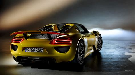 59 Porsche 918 Spyder Hd Wallpapers  Background Images