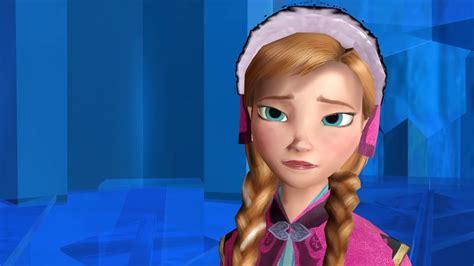 frozen mmd elsa reveals  secret  anna youtube