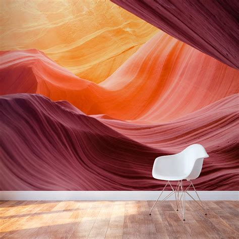 antelope canyon wall sticker unique wall decal