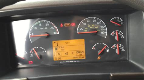 volvo vnl semi truck stranded  mph derate limit temp fix