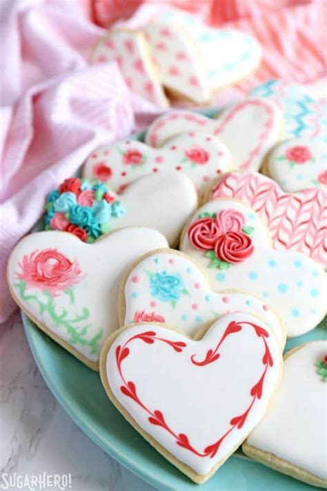 valentines day cookies   blog recipes