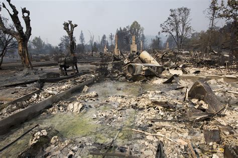 california fire  pictures show