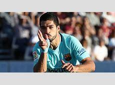 Leganes 03 Barcelona Luis Suarez snaps goal draught to