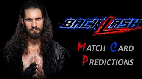 We did not find results for: WWE Backlash 2020 Match Card Predictions - YouTube