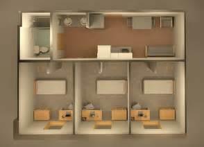 Microwave Dorm Room