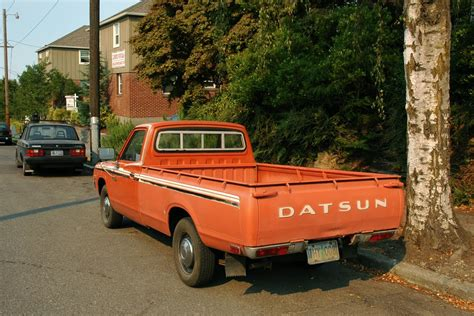 Datsun Truck by Parked Cars 1976 Datsun 620