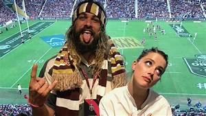 Jason Momoa Takes 39Aquaman39 Co Star Amber Heard To A Rugby