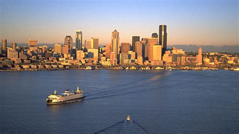 seattle visitors bureau the most scenic ferry rides in the u s budget travel