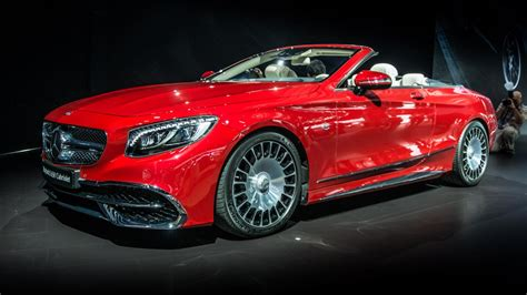 mercedes maybach  cabriolet  arrived top gear