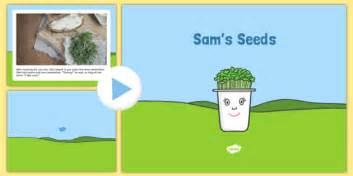 eyfs sams seeds story powerpoint eyfs early years