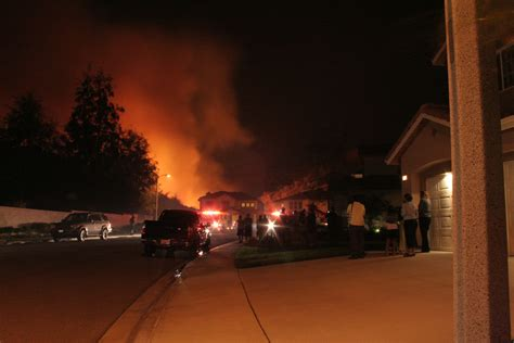 foothill ranch saddleback fires october  part