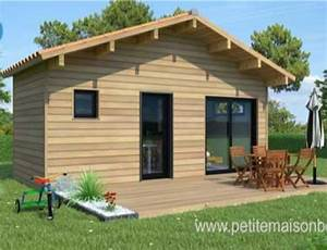 Chalet Habitable Sans Permis De Construire : un studio de jardin pour loger un parent petite maison ~ Dallasstarsshop.com Idées de Décoration