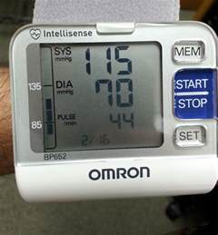 Blood Pressure 100 70