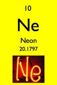 Neon Periodic Table Atomic Number and Mass