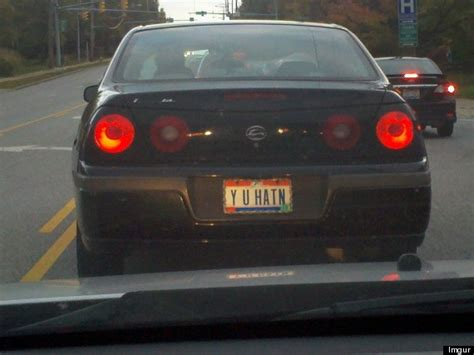 Vanity Plates - 22 vanity plates that will make you shake your huffpost