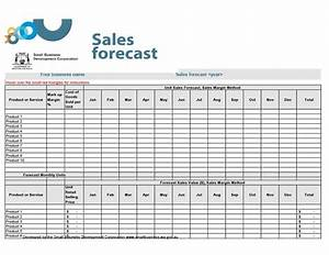 39 sales forecast templates spreadsheets template archive With sales projection template free download