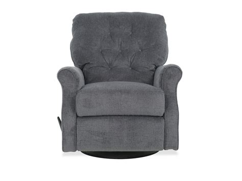 Recliner For by Button Tufted Casual Swivel Glider Rocking Recliner In