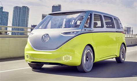 vw camper van update  electric id buzz features